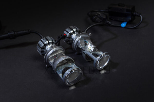 LED Lens (projector) 1.5 LED - G8 H4 (2PCS)